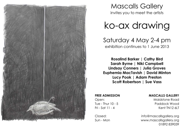 ko-ax drawing invitation